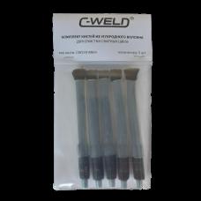 Комплект кистей из углеволокна C-WELD S70, 5 шт., М6 (наружная)