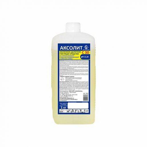Щелочное моющее средство с активным хлором АКСОЛИТ С30