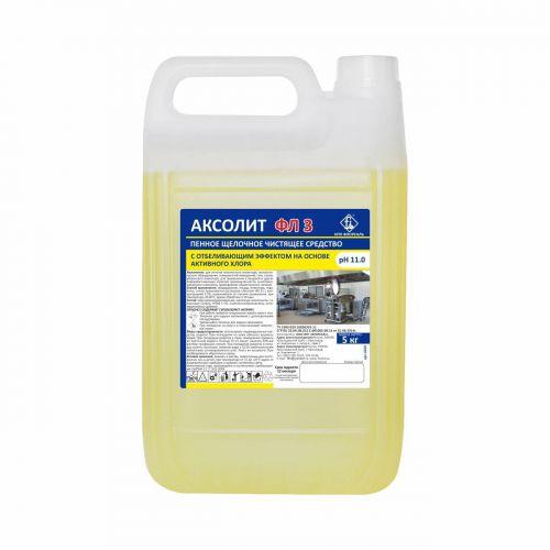 Моющее средство с активным хлором АКСОЛИТ ФЛ 3