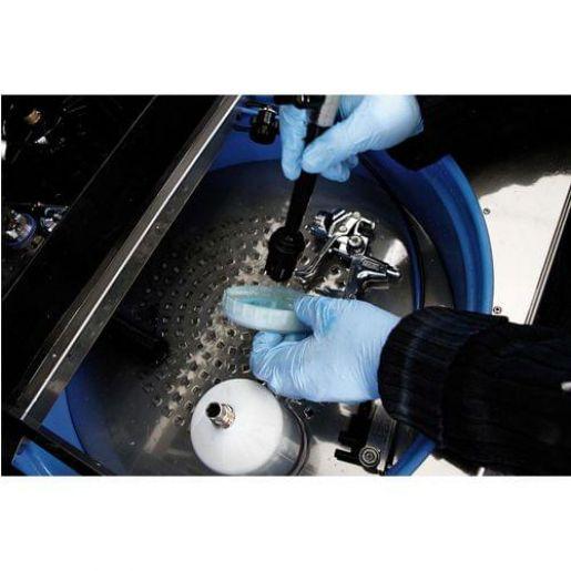 Автоматическая мойка для очистки покрасочного инструмента